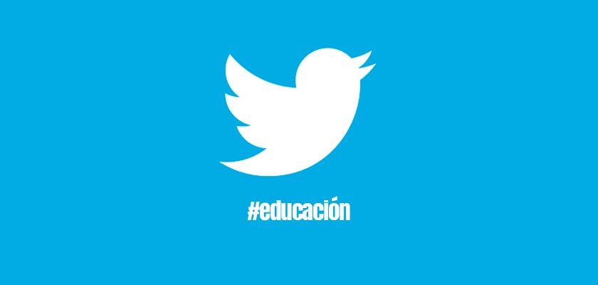 lista de recomendados en educación en twitter