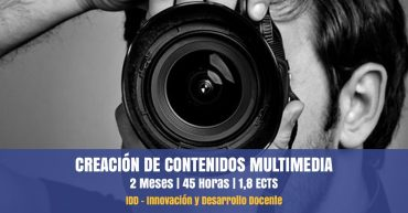 curso contenidos multimedia