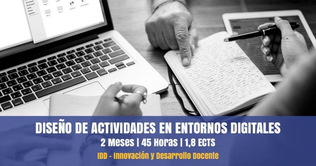curso diseño actividades