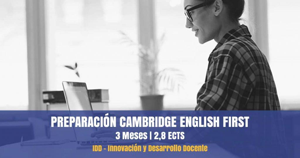 curso preparación cambridge english