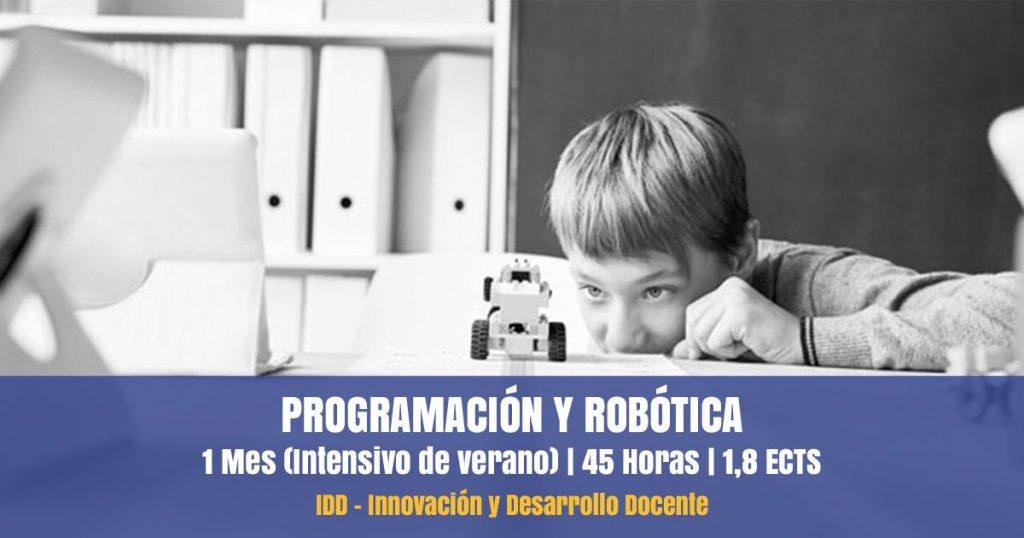 curso online programación robótica