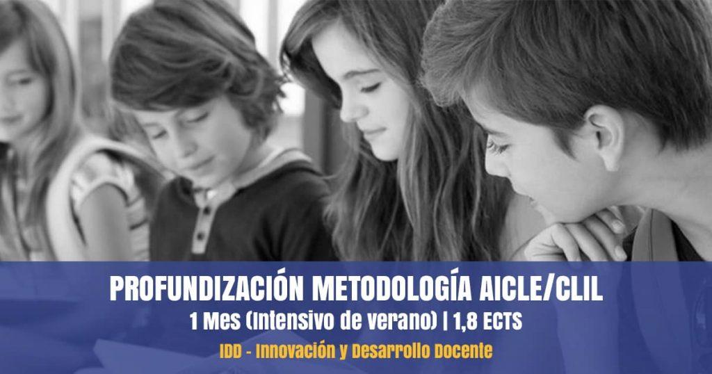 curso metodología aicle