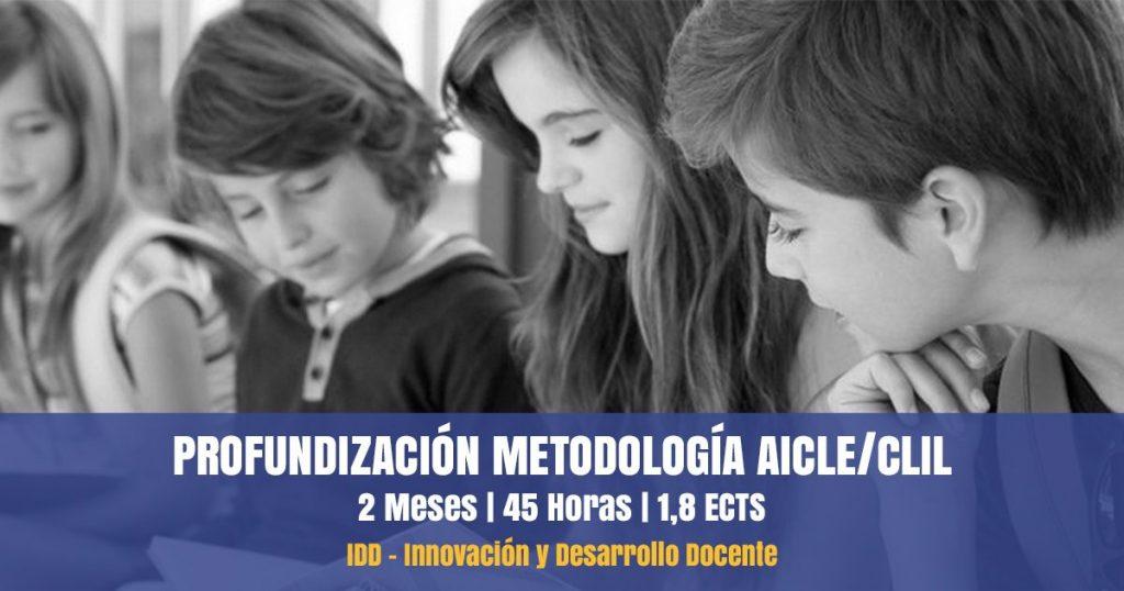 curso profundización metodología aicle