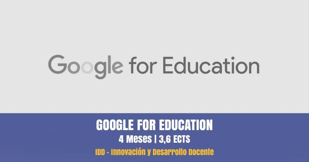 curso google for education