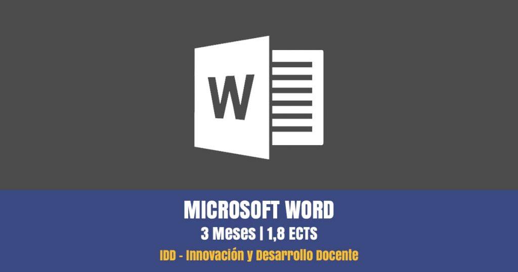 curso microsoft word