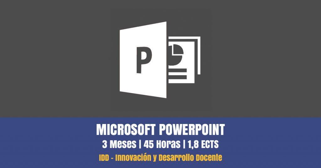 curso online microsoft powerpoint