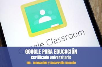 cursos google educación