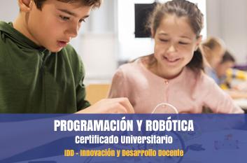 cursos programación robótica