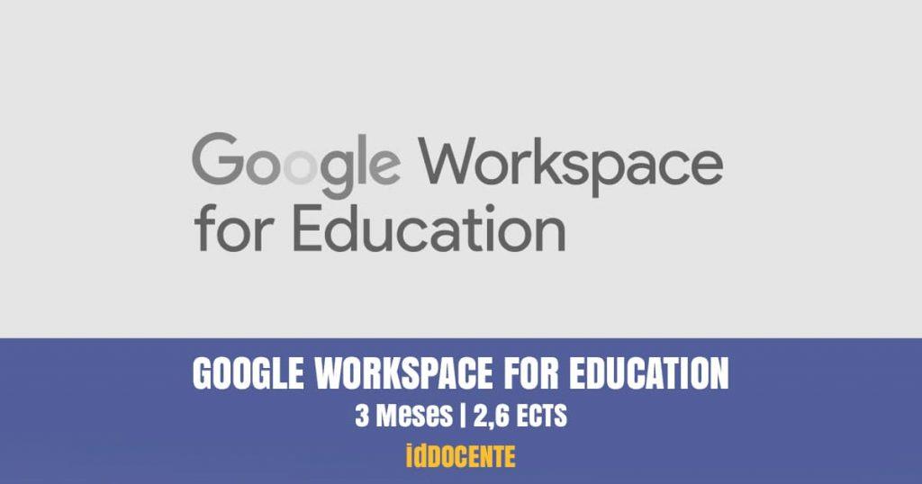 curso google workspace education